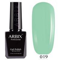 Гель-лак Arbix №019 Лаймовый Дайкири 10мл.