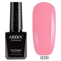 Гель-лак Arbix №020 Розовый Фламинго 10мл.