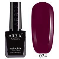 Гель-лак Arbix №024 Сливовый Пунш 10мл.