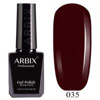 Гель-лак Arbix №035 Спелая Черешня 10мл.