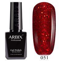 Гель-лак Arbix №051 Огни Барселоны 10мл.