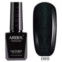 Гель-лак Arbix №080 Зелёное Сияние 10мл.
