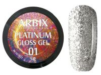 Гель-лак Arbix Platinum Gloss Gel 01, 5гр.