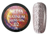 Гель-лак Arbix Platinum Gloss Gel 02, 5гр.