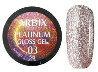 Гель-лак Arbix Platinum Gloss Gel 03, 5гр.