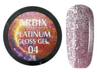 Гель-лак Arbix Platinum Gloss Gel 04, 5гр.