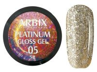 Гель-лак Arbix Platinum Gloss Gel 05, 5гр.