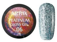Гель-лак Arbix Platinum Gloss Gel 06, 5гр.