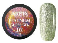 Гель-лак Arbix Platinum Gloss Gel 07, 5гр.