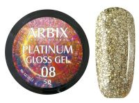 Гель-лак Arbix Platinum Gloss Gel 08, 5гр.