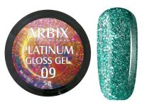 Гель-лак Arbix Platinum Gloss Gel 09, 5гр.