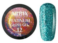 Гель-лак Arbix Platinum Gloss Gel 12, 5гр.