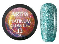 Гель-лак Arbix Platinum Gloss Gel 13, 5гр.
