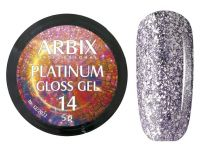 Гель-лак Arbix Platinum Gloss Gel 14, 5гр.