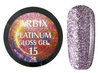 Гель-лак Arbix Platinum Gloss Gel 15, 5гр.