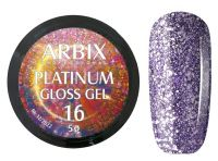 Гель-лак Arbix Platinum Gloss Gel 16, 5гр.