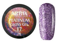 Гель-лак Arbix Platinum Gloss Gel 17, 5гр.