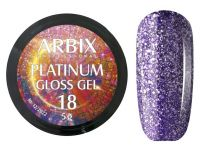 Гель-лак Arbix Platinum Gloss Gel 18, 5гр.