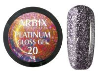 Гель-лак Arbix Platinum Gloss Gel 20, 5гр.