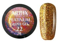 Гель-лак Arbix Platinum Gloss Gel 22, 5гр.