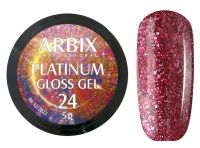 Гель-лак Arbix Platinum Gloss Gel 24, 5гр.