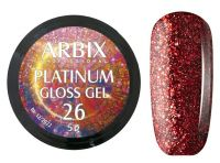 Гель-лак Arbix Platinum Gloss Gel 26, 5гр.