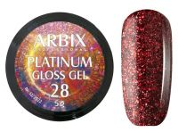 Гель-лак Arbix Platinum Gloss Gel 28, 5гр.