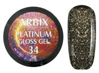 Гель-лак Arbix Platinum Gloss Gel 34, 5гр.