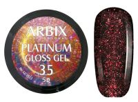 Гель-лак Arbix Platinum Gloss Gel 35, 5гр.