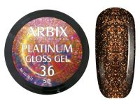 Гель-лак Arbix Platinum Gloss Gel 36, 5гр.