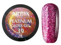 Гель-лак Arbix Platinum Gloss Gel 39, 5гр.