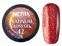 Гель-лак Arbix Platinum Gloss Gel 42, 5гр.