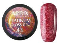 Гель-лак Arbix Platinum Gloss Gel 43, 5гр.