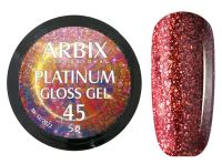 Гель-лак Arbix Platinum Gloss Gel 45, 5гр.