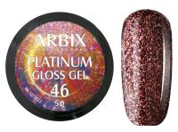 Гель-лак Arbix Platinum Gloss Gel 46, 5гр.