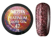 Гель-лак Arbix Platinum Gloss Gel 47, 5гр.