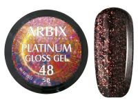 Гель-лак Arbix Platinum Gloss Gel 48, 5гр.
