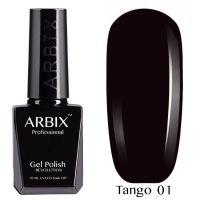Гель-лак Arbix TANGO Тайное Желание №001 10мл. (темно-сливовый)