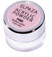 Акриловая пудра ELPAZA Pink 15гр. (розовая)
