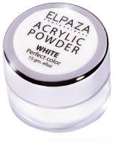 Акриловая пудра ELPAZA White 15гр. (белая)