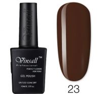 Гель-лак VINSALL №023 10мл. (коричнево-терракотовый эмалевый)