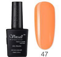Гель-лак VINSALL №047 10мл. (желто-оранжевый эмалевый)