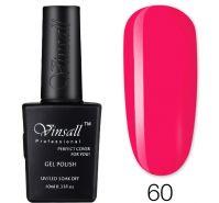 Гель-лак VINSALL №060 10мл. (ярко-розовый эмалевый)