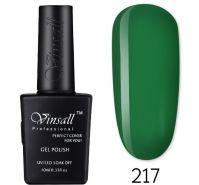 Гель-лак VINSALL №217 10мл. (зеленый витражный эмалевый)