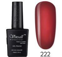 Гель-лак VINSALL №222 10мл. (красный витражный эмалевый)