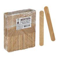 Шпатель деревянный шлифованный нестерильный 150х18х1,8 мм, 100шт. Лейко