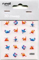 3D Слайдер-дизайн #4890 Runail Professional