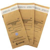 Крафт-пакеты для стерилизации АЛЬЯНС ХИМ самоклеящиеся 75x150 мм (100 штук в упаковке)