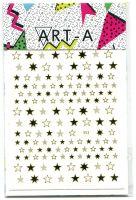 3D наклейка STARS #353-3 золото ART-A