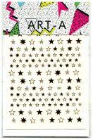 3D наклейка STARS #361-1 розовое золото ART-A
